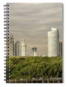Modern Buenos Aires Spiral Notebook