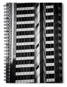 Modern Buildings Abstract Architecture Spiral Notebook