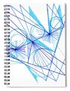 Modern Drawing Eighty-eight Spiral Notebook