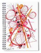 Modern Drawing Fifty-four Spiral Notebook