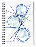 Modern Drawing Fifty-seven Spiral Notebook