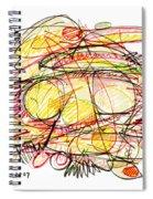 Modern Drawing Seventy-eight Spiral Notebook