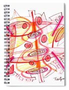 Modern Drawing Seventy-four Spiral Notebook