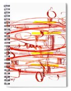 Modern Drawing Seventy Spiral Notebook