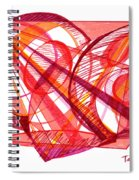 Modern Drawing Seventy-one Spiral Notebook