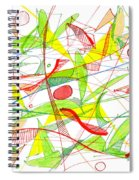 Modern Drawing Seventy-three Spiral Notebook