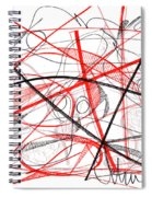 Modern Drawing Seventy-two Spiral Notebook