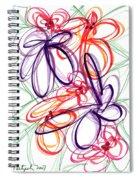 Modern Drawing Sixty-six Spiral Notebook