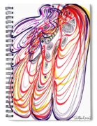 Modern Drawing Sixty-three Spiral Notebook