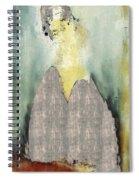 Modern From Classic Art Portrait - Mfca-spjs01ai Spiral Notebook