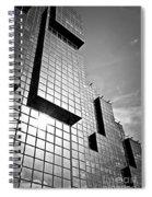 Modern Glass Building Spiral Notebook