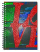 Modern Love Spiral Notebook