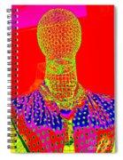 Modern Mesh Mosaic Spiral Notebook
