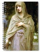 Modesty Spiral Notebook