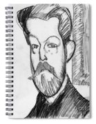 Modigliani - Paul Alexander Spiral Notebook