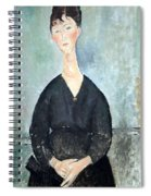 Modigliani's Cafe Singer Spiral Notebook