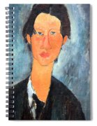 Modigliani's Chaim Soutine Up Close Spiral Notebook