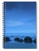 Moeraki Boulders Also Known As Te Spiral Notebook