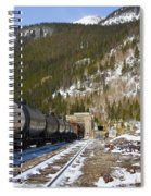 Moffat Tunnel East Portal At The Continental Divide In Colorado Spiral Notebook