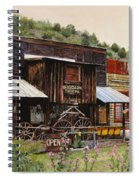 Mogollon-theatre-new Mexico  Spiral Notebook