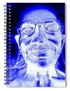 Mohandas Gandhi Spiral Notebook