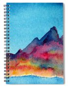 Mohave Mountains Spiral Notebook