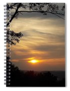 Mohawk Sunset Spiral Notebook