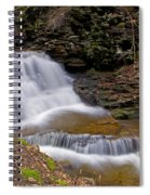 Mohican Falls In Spring Spiral Notebook