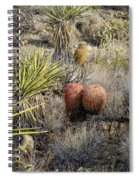 Mojave Desert Cactus Spiral Notebook