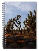 Mojave Desert Joshua Tree With Ravens Spiral Notebook