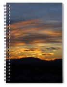 Mojave Desert Sunrise Spiral Notebook