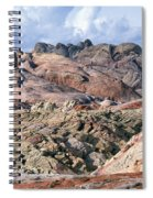 Mojave Desert View - Valley Of Fire Spiral Notebook