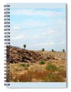 Mojave Desert Landscape Spiral Notebook