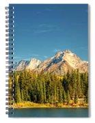 Molas Lake And The Needle Range Pan 2 Spiral Notebook
