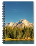 Molas Lake And The Needles Pan 1 Spiral Notebook
