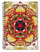 Molecular Rose Spiral Notebook