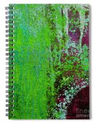 Molten Earth Lime Spiral Notebook