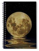 Molten Moon Spiral Notebook