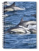 Mom And Baby On The Go Spiral Notebook