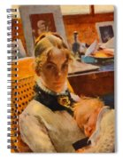 Mom I Love You  Spiral Notebook