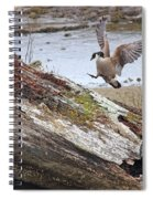 Mom Is Home Spiral Notebook