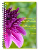 Moment Of Bloom Spiral Notebook