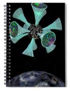 Momentary Sputnik 13  Spiral Notebook