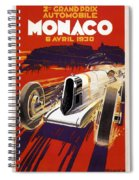 Monaco Grand Prix 1930 Spiral Notebook