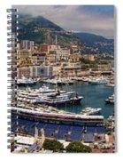 Monaco Panorama Spiral Notebook