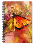 Monarch Beauty Spiral Notebook