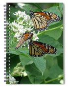 Monarch Butterfly 66 Spiral Notebook