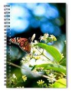 Monarch Butterfly I Spiral Notebook