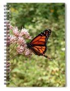 Monarch Of The North Spiral Notebook