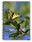 Monarch Tranquility Spiral Notebook
